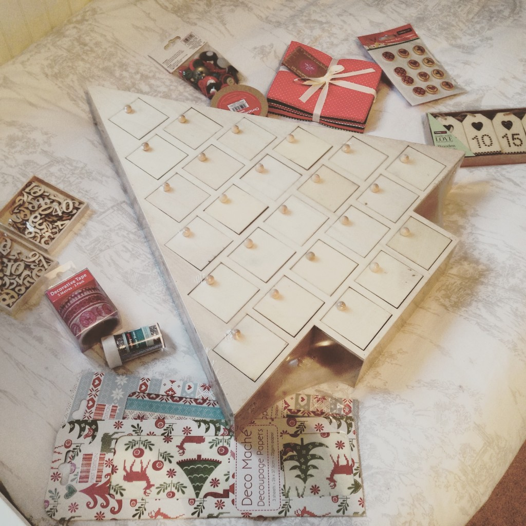 Craft Your Own Christmas Advent Calendar Adele Mitchinson
